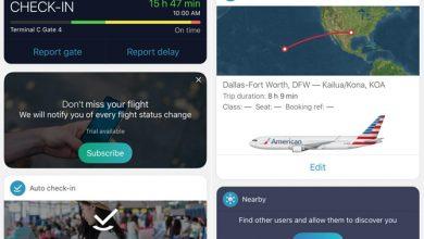 Photo of أفضل 3 تطبيقات لتعقب الرحلات الجوية على الأيفون