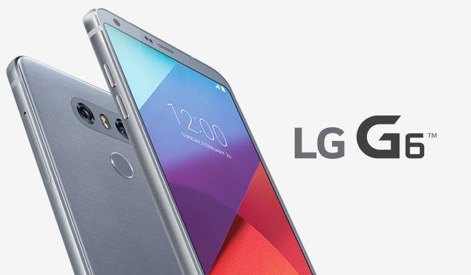 هاتف إل جي جي lg g6