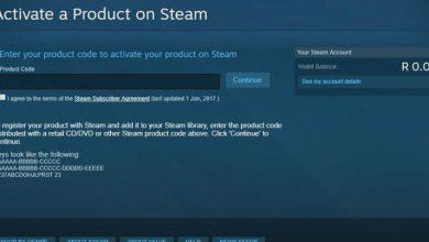 Photo of يمكنك الان تفعيل مفاتيح الألعاب مباشرة من موقع ستيم Steam