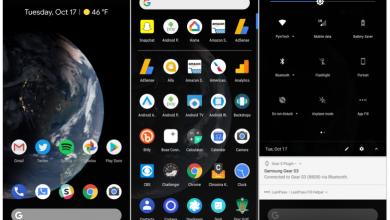 Photo of Android P سيتوفر على ثيم أسود بشكل رسمي