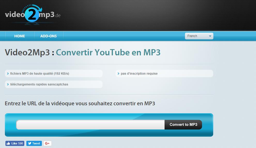 تحويل فيديو يوتوب Youtube إلى MP3