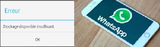 حذف ملفات الواتس اب
