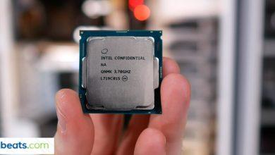 صورة مقارنة : معالج AMD Ryzen الجيل الثاني VS إنتل الجيل الثامن