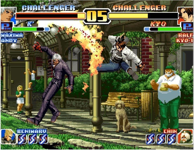 The-King-of- Fighters
