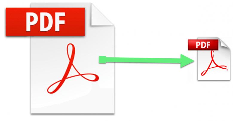 تصغير حجم ملف pdf مجانا