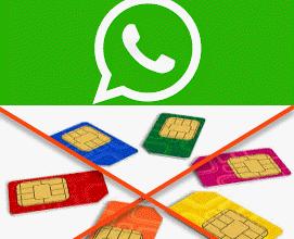 صورة تعرف على كيفية استخدام الواتس اب بدون بطاقة SIM .
