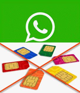 استخدام الواتس اب بدون بطاقة SIM