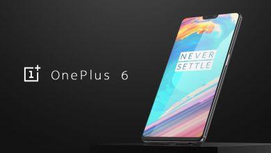 Photo of تحديث ون بلس 6 OnePlus الأول لإخفاء نوتش الشاشة