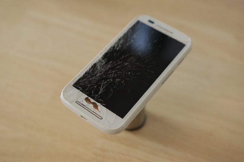 استرجاع الملفات من هاتف مكسور الشاشة