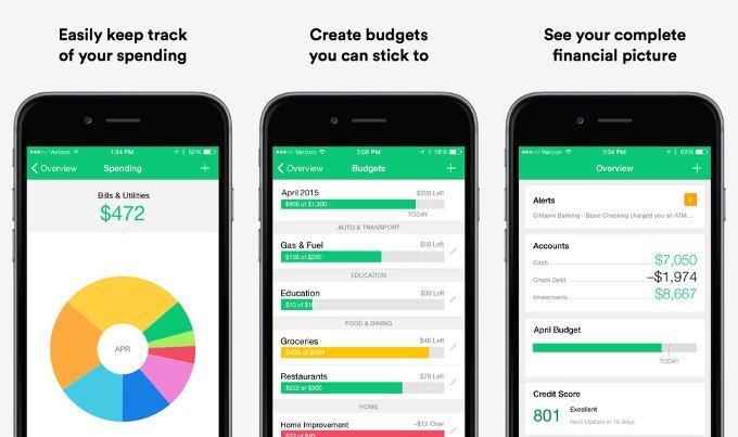 Mint-Personal-Finance-app