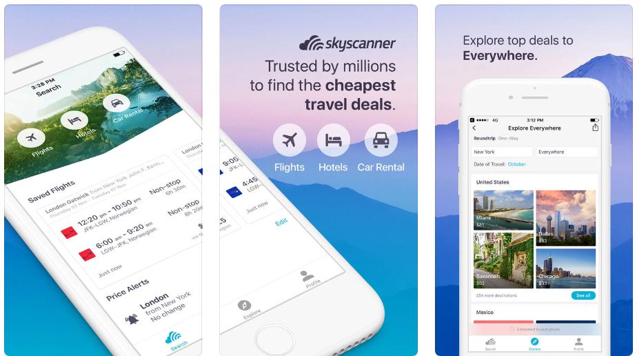 Skyscanner-app
