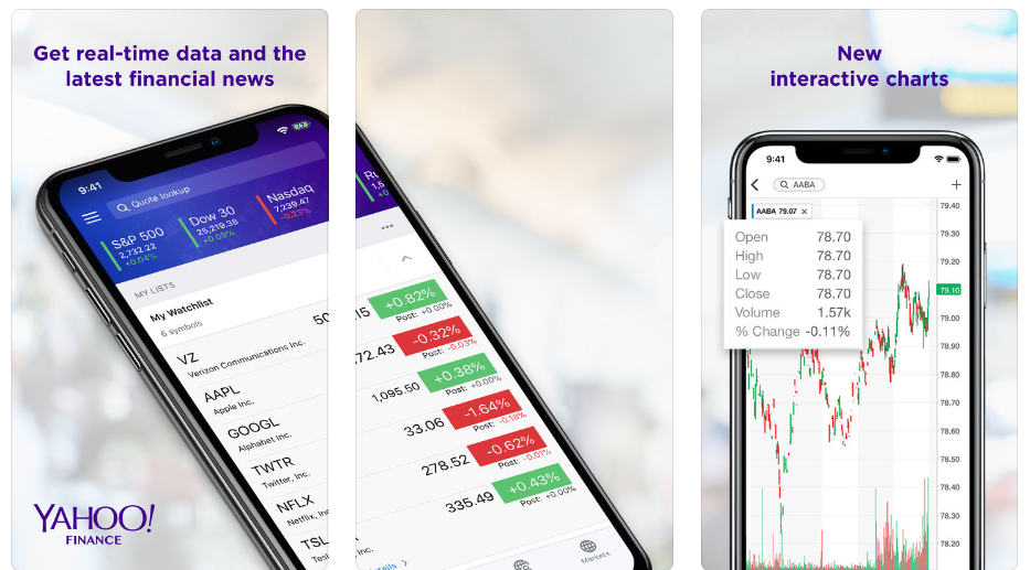 Yahoo-Finance-app