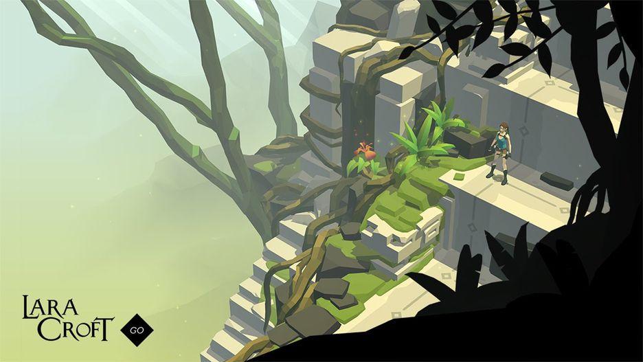 لعبة Lara Croft Go