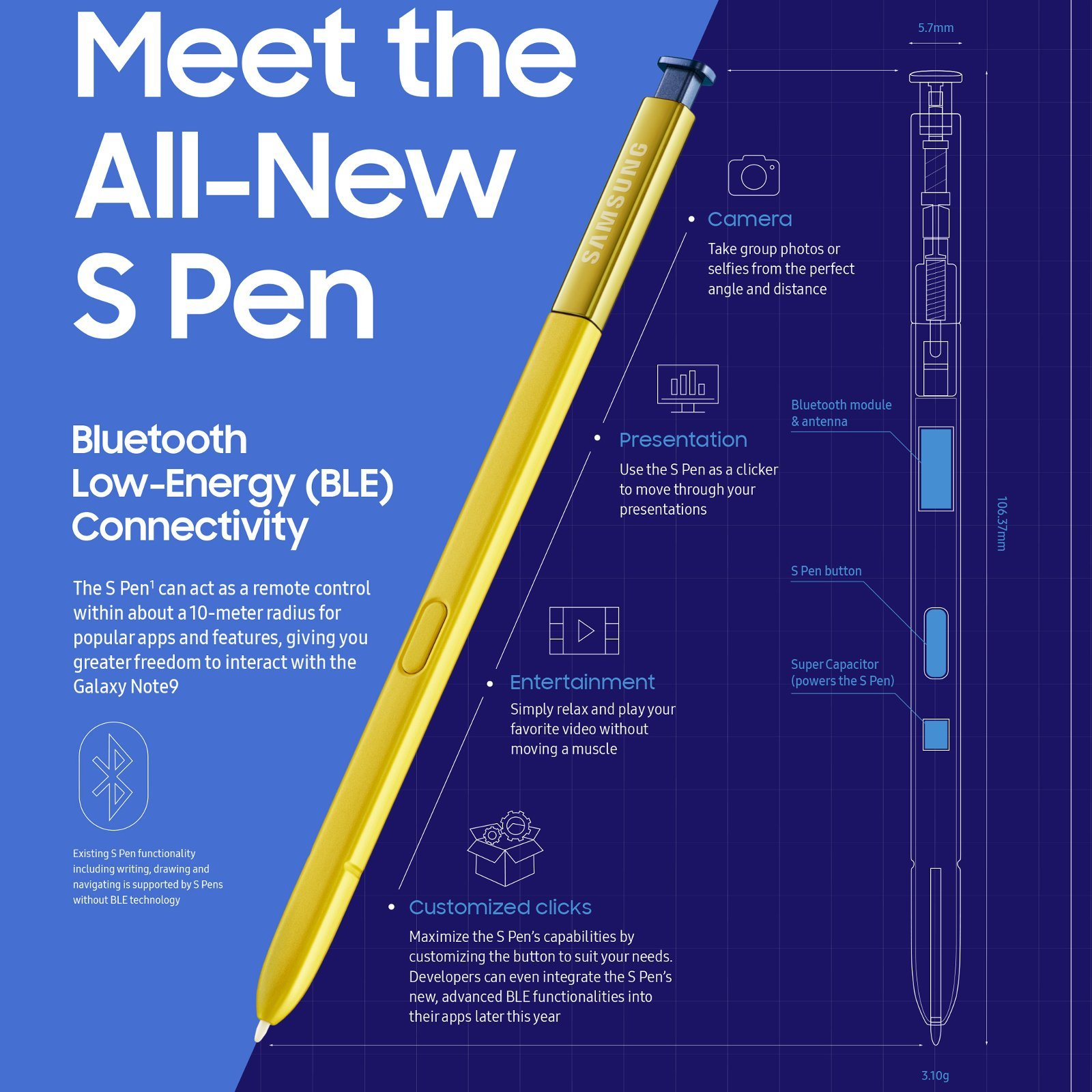 قلم جالكسي نوت 9