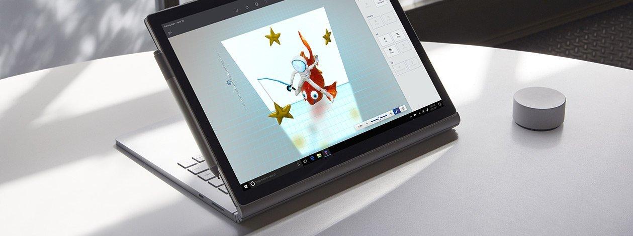 الكمبيوتر المحمول Surface Book 2