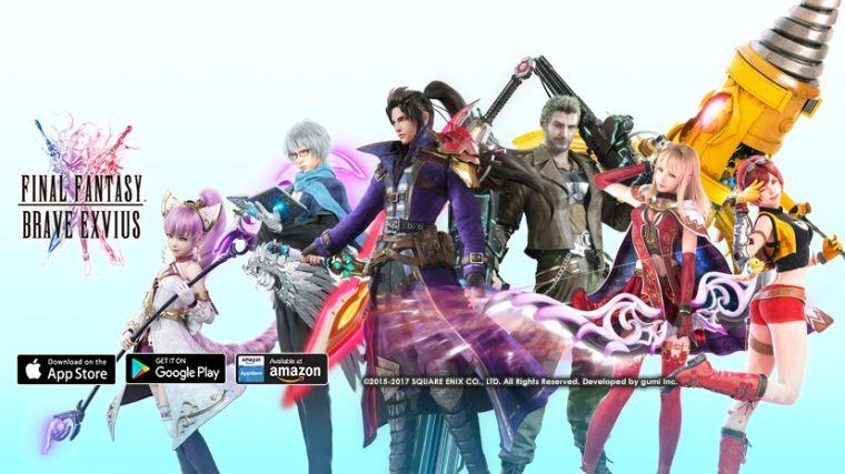 لعبة Final Fantasy: Brave Exvius