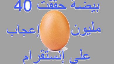 Photo of بيضة انستقرام  ، حققت أكثر من 40 مليون إعجاب في Instagram!!!