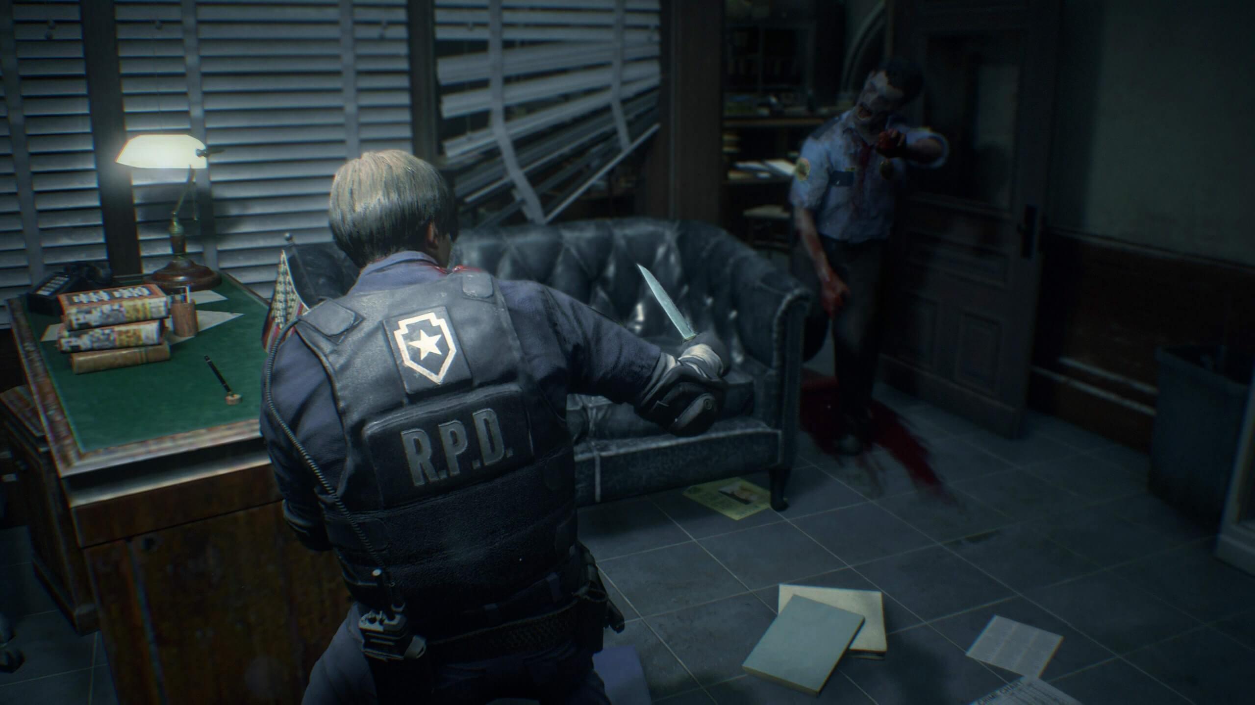 ديمو لعبة Resident Evil 2 One-Shot