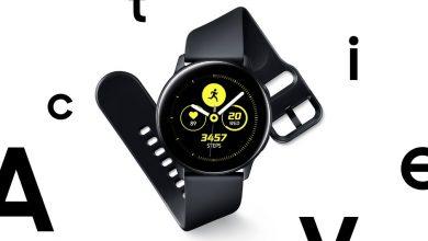 Photo of تعرف على الساعة الذكية Galaxy Watch Active