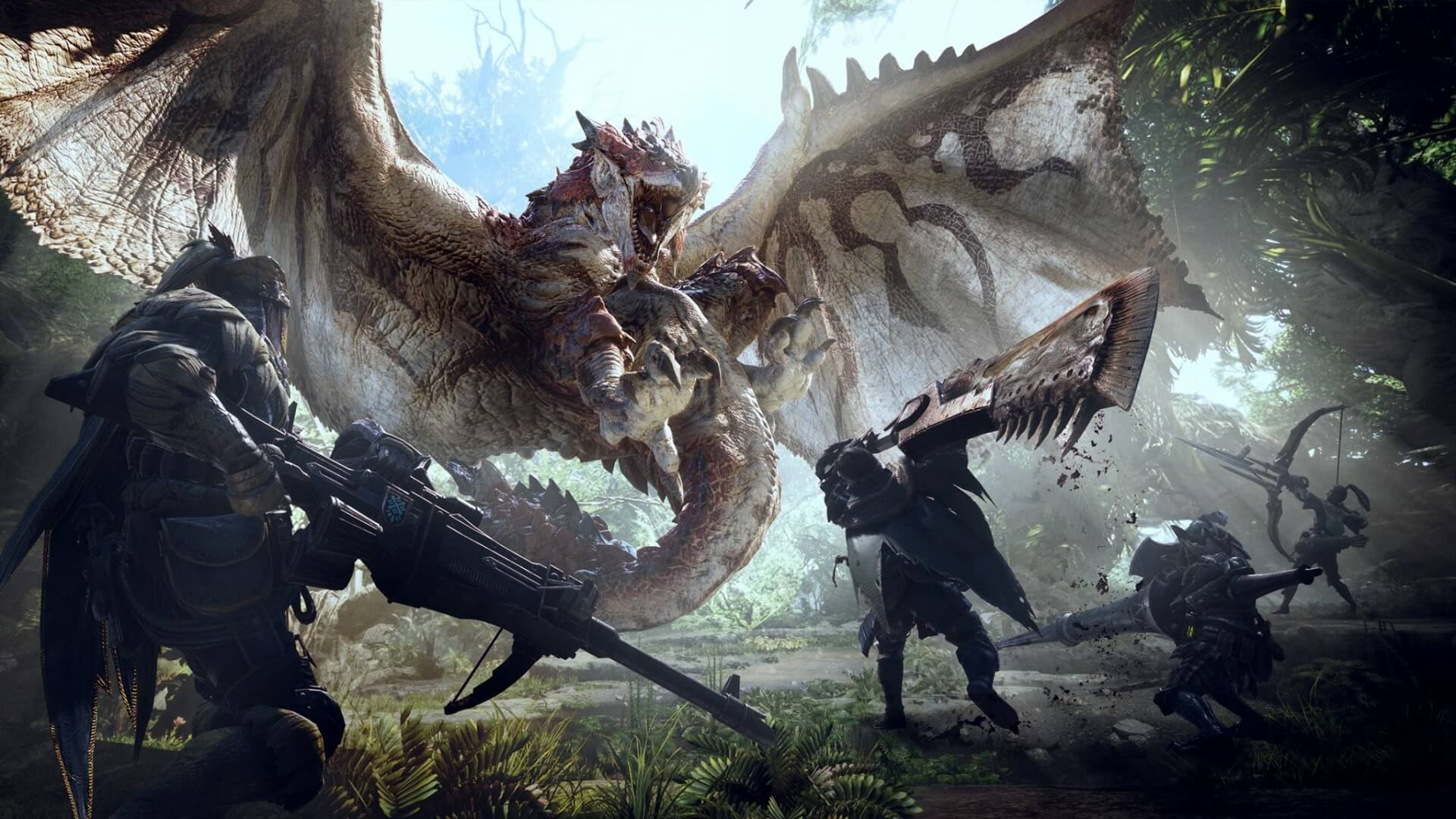لعبة Monster Hunter: World