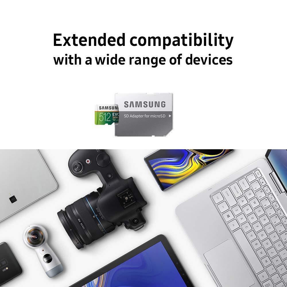 طاقة تخزين سامسونج 256GB و 512GB بأرخص سعر ممكن