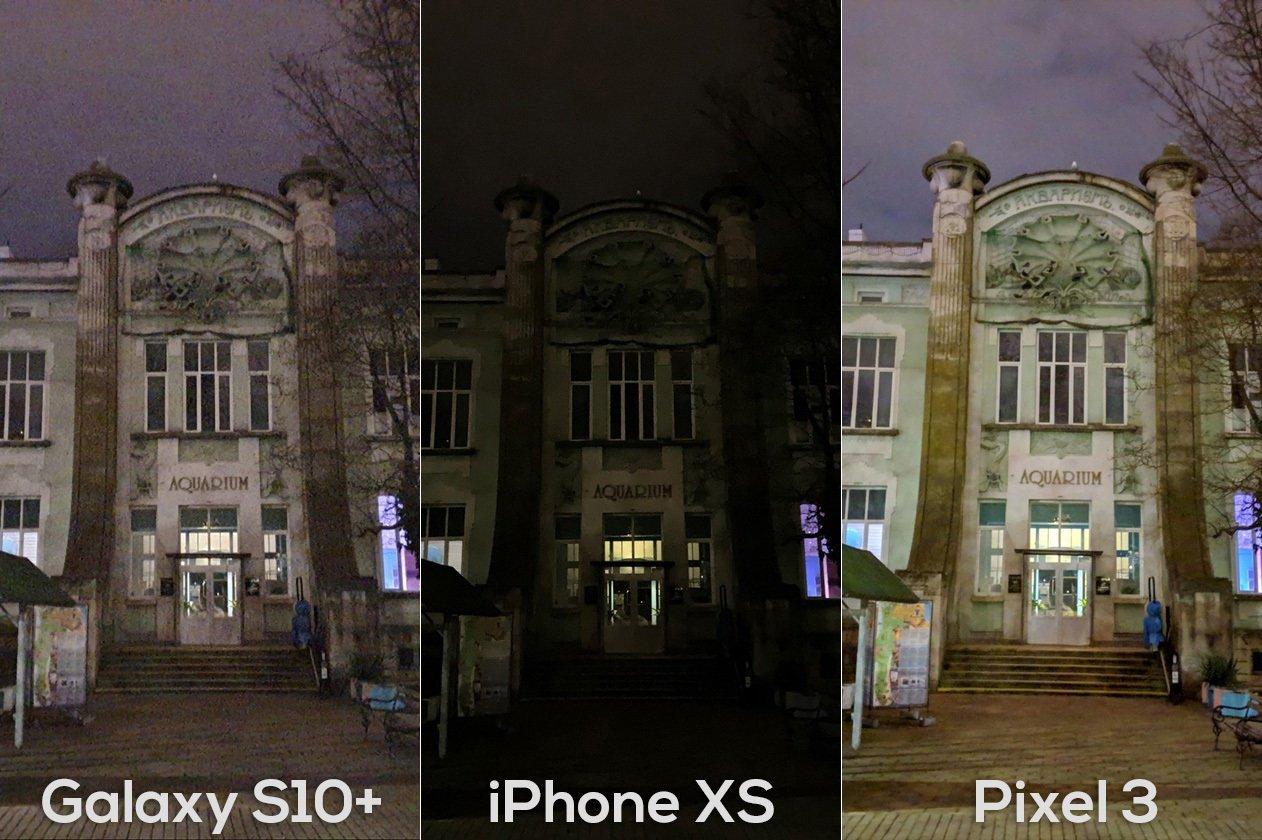 مقارنة هاتف Galaxy S10 ضد Pixel 3 ضد iPhone XS