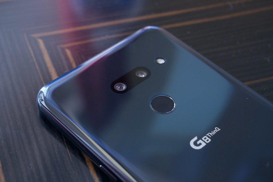 هاتف إل جي G8 ThinQ