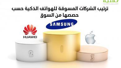 Photo of انخفاض في مبيعات الهواتف الذكية : سامسونج في المقدمة وهواوي تنتزع المركز الثاني من آبل