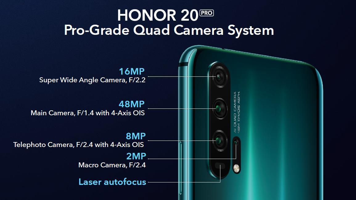 كاميرا هونر 20 برو