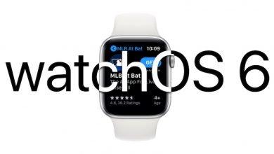تحديث WatchOS 6