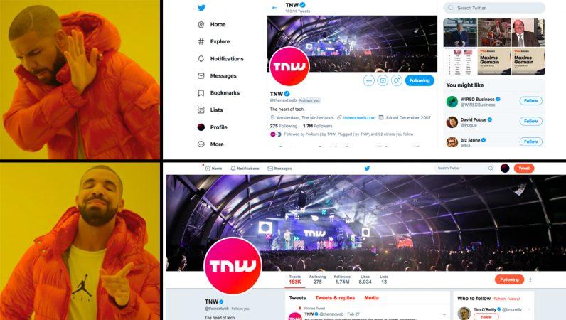 كيفية الرجوع لتصميم تويتر القديم بنقرة واحدة