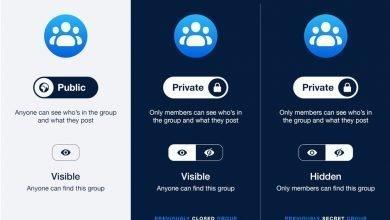 Photo of تعديل جديد على إعدادت الخصوصية في مجموعات الفيسبوك