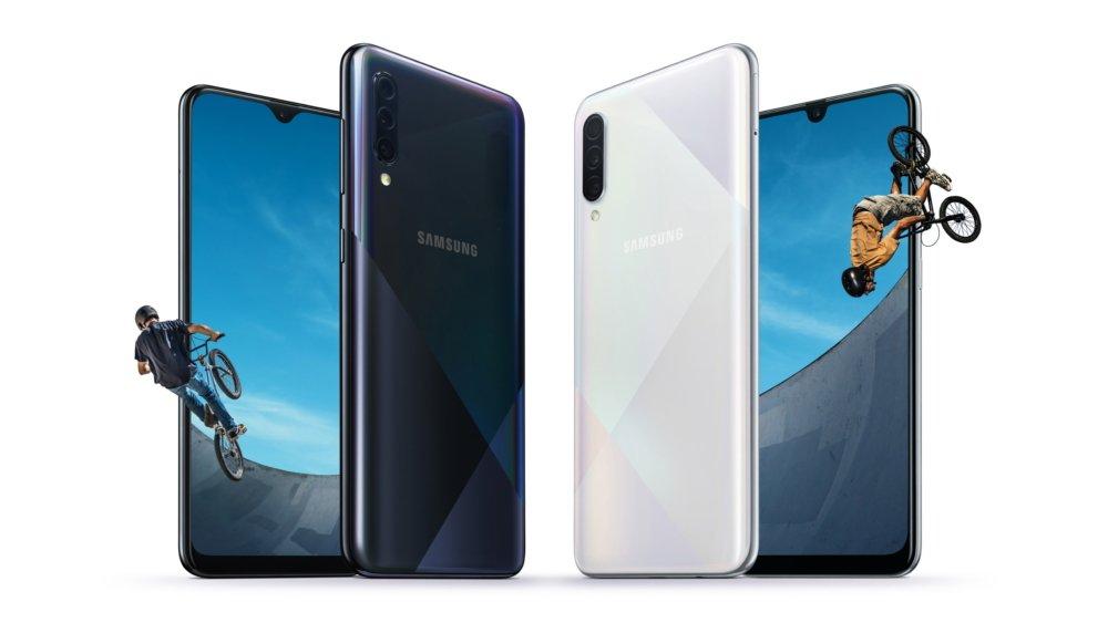 هاتف Galaxy A50s و Galaxy A30s