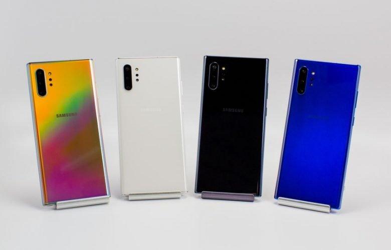 هواتف Galaxy Note 10