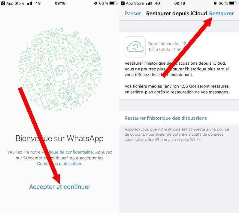 كيفية استرجاع رسالة على الواتساب