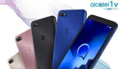 صورة الإعلان عن هاتف Alcatel 1V و Alcatel 3X و TCL Plex وتابلت Alcatel Smart Tab 7
