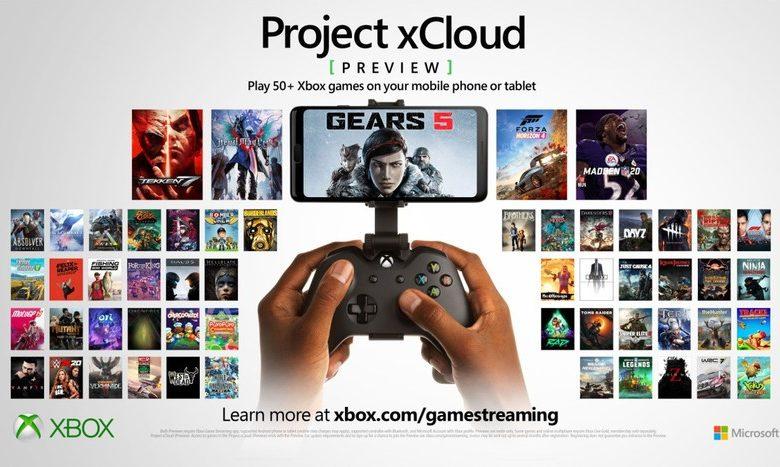 Photo of اكس كلاود xCloud : قادمة بقائمة تضم 54 لعبة، وداعا Google Stadia