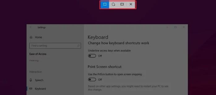 طريقة عمل لقطة شاشة على ويندوز 10