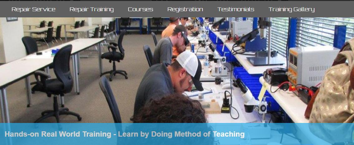 تعليم صيانة الهواتف النقالة