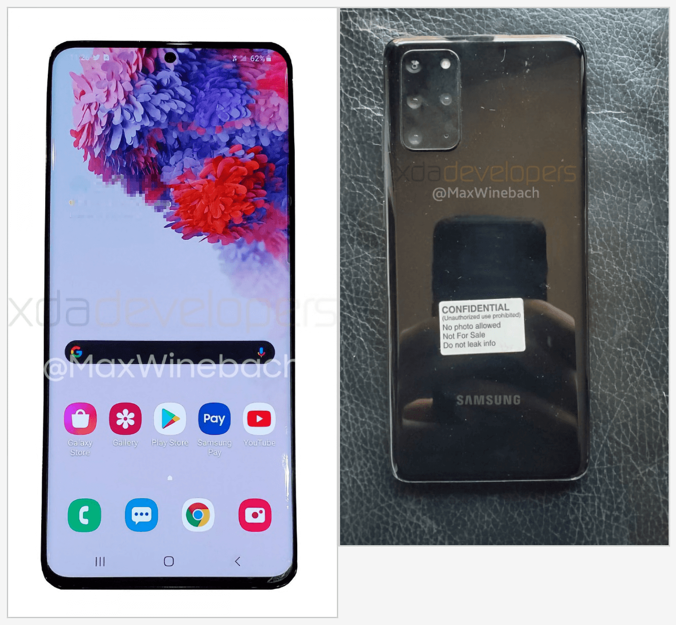 هاتف سامسونج +Galaxy S20