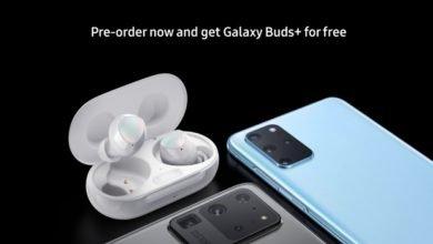 Photo of سماعات +Galaxy Buds مجانا عند طلب جوال جالكسي اس 20 أو اس 20 بلس