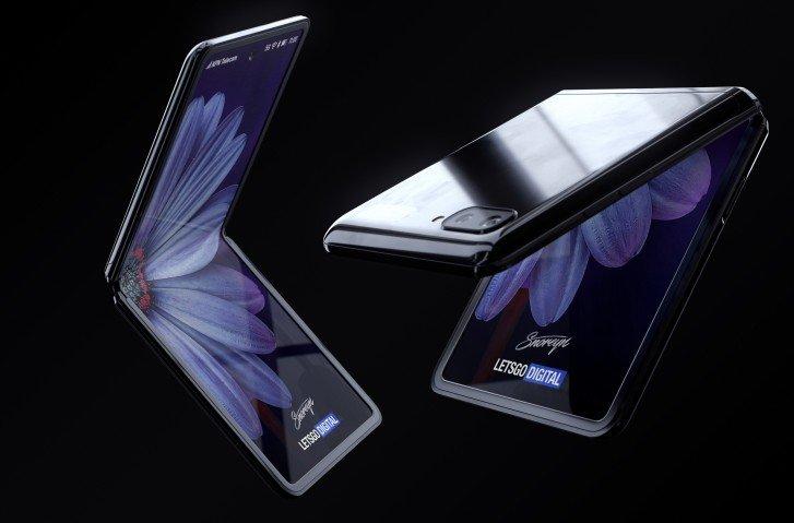 جوال سامسونج القابل للطي Galaxy Z Flip