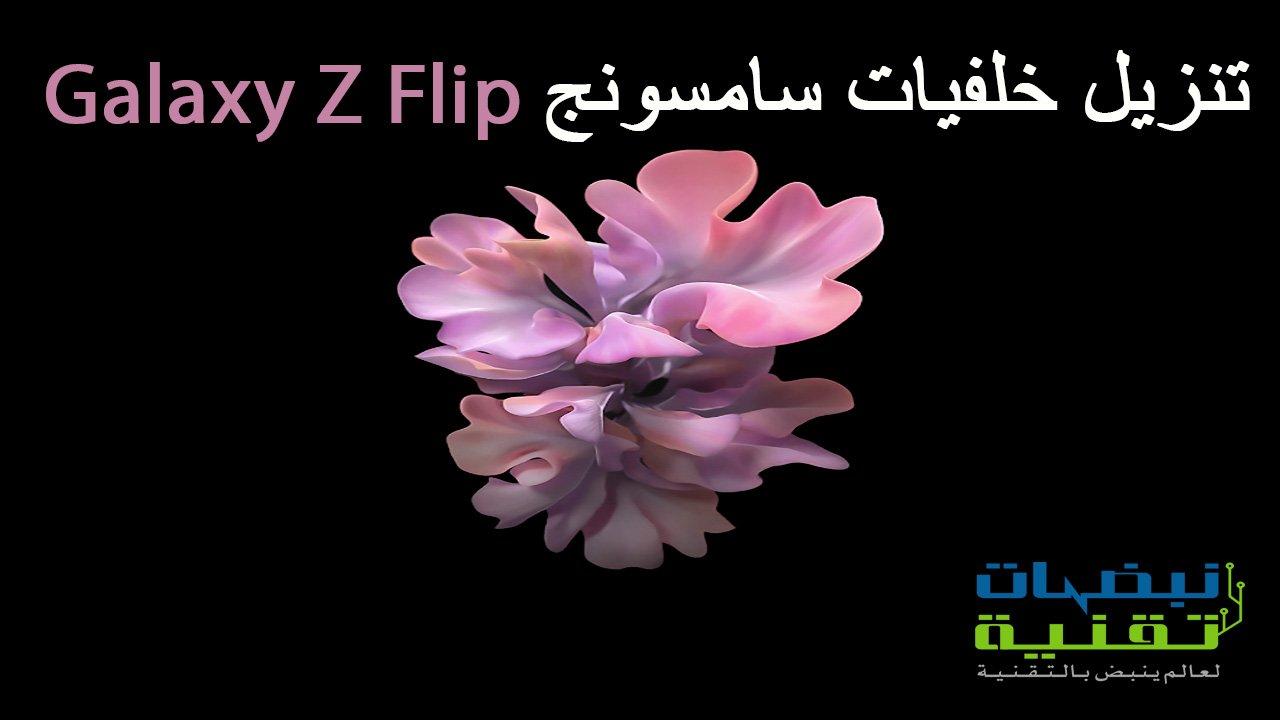 تنزيل خلفيات سامسونج Galaxy Z Flip
