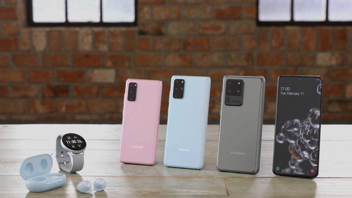 جوال Samsung Galaxy S20