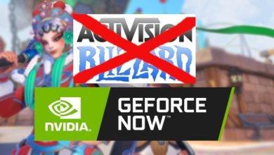 Photo of سحب جميع ألعاب Activision Blizzard من خدمة الألعاب السحابية GeForce Now