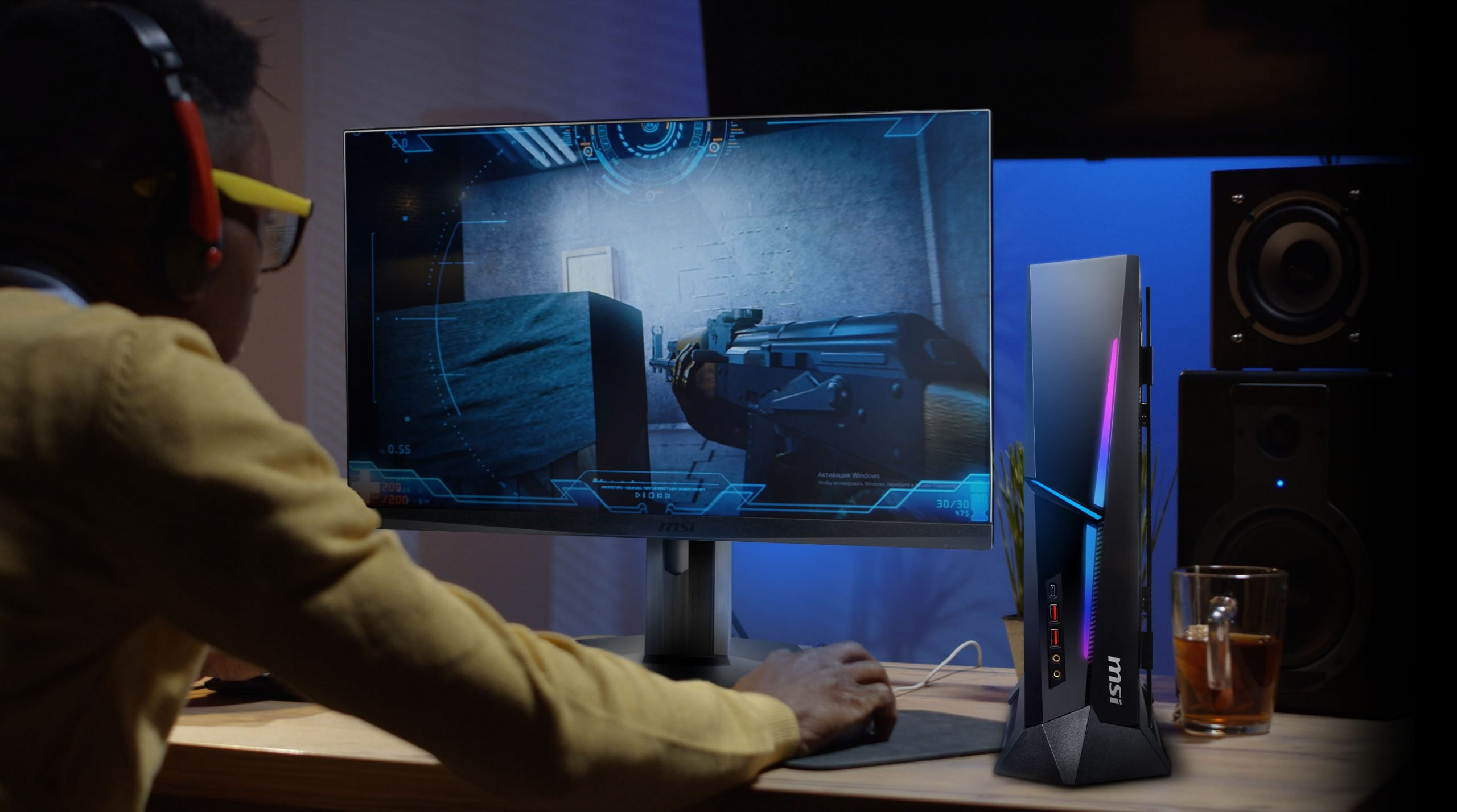 كمبيوتر MEG Trident X المكتبي