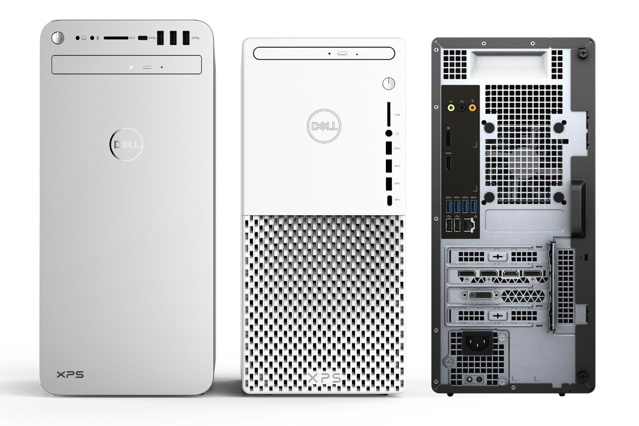كمبيوتر مكتبي جديد من Dell