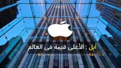 صورة آبل الشركة الأعلى قيمة في العالم متفوقة على شركة أرامكو السعودية