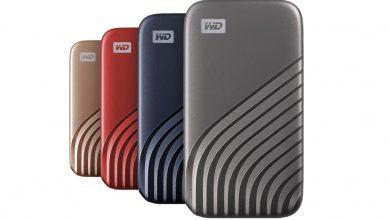 صورة أسرع قرص تخزين خارجي محمول SSD من Western Digital