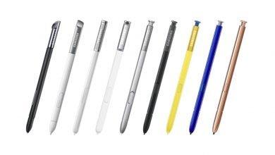 صورة تاريخ قلم S Pen : من هاتف جالكسي نوت لسنة 2011 إلى غاية نوت 20 لسنة 2020